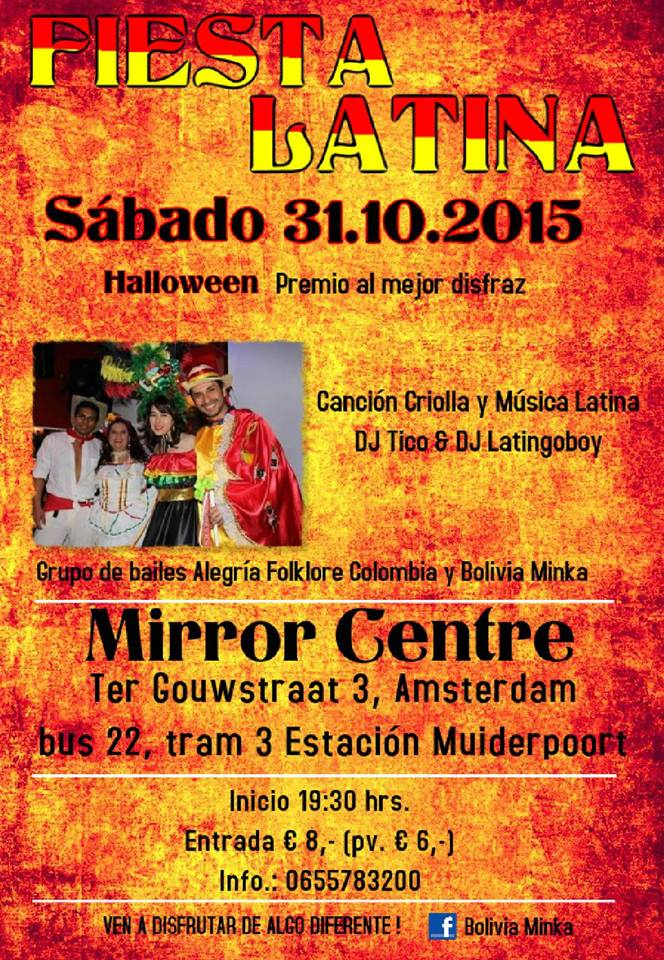 mirror center - halloween 31 okt